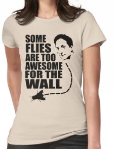 Too awesome for the wall Womens Fitted T-Shirt