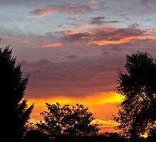 October Morning Sunrise by Tom Gotzy