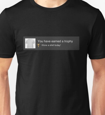 PS3 Trophy Unlocked Unisex T-Shirt