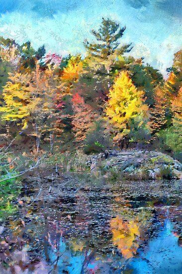 Fall Colours 1 - painted by PhotosByHealy