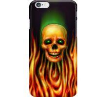 Flame Skull 3 iPhone Case/Skin