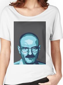 Walter White (Breaking Bad) - Cartoon Women's Relaxed Fit T-Shirt