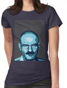 Walter White (Breaking Bad) - Cartoon Womens Fitted T-Shirt