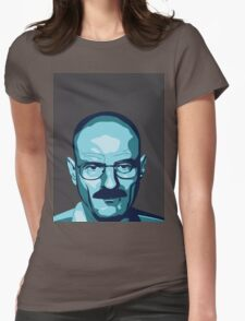 Walter White (Breaking Bad) - Cartoon Womens Fitted T-Shirt