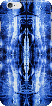Ink Blot Blue by Marvin Hayes