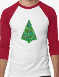 Tree 4 Men's Baseball ¾ T-Shirt
