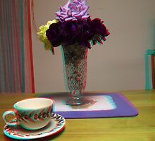 floating cup and saucer by Andrew Tummons