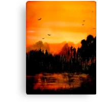 Copper Sky... Canvas Print