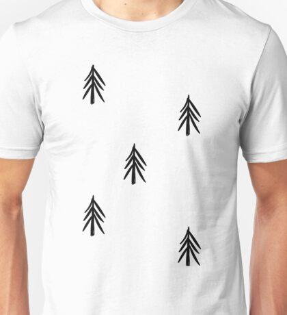 nordic fir trees Unisex T-Shirt