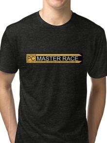 Glorious pc master race banner Tri-blend T-Shirt
