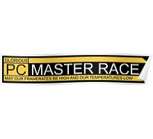 Glorious pc master race banner Poster