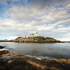York Harbor - The Nubble Lighthouse by Lori Deiter