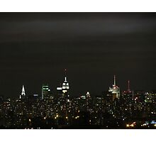 Calm before the storm; New York City Photographic Print