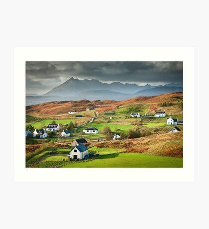 Tarskavaig - Isle of Skye Art Print