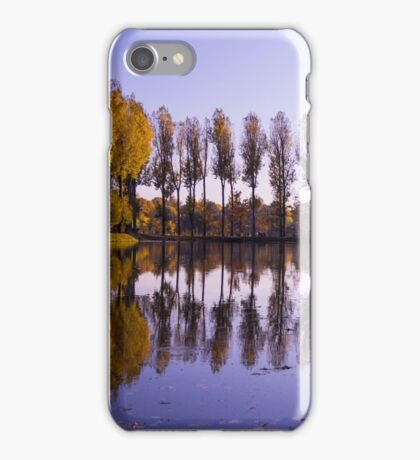 Line of Trees - Nature Photography iPhone Case/Skin