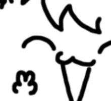 Hi I'm Kitty Mroo Sticker