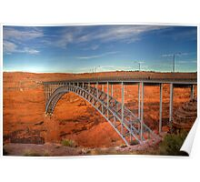 Glen Canyon Bridge Poster