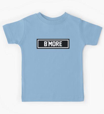 B More Kids Tee