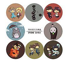 StudioGhibli Pins Photographic Print