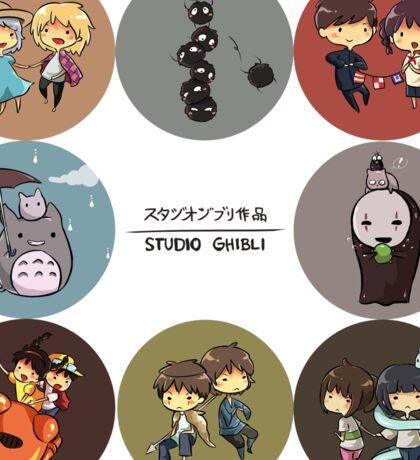 StudioGhibli Pins Sticker