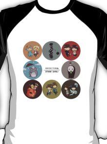 StudioGhibli Pins T-Shirt