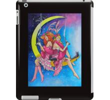 Saloon Girls On The Moon With Moon Cats! iPad Case/Skin