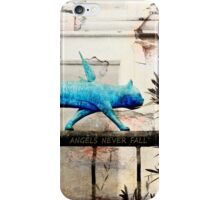 Angels Never Fall iPhone Case/Skin