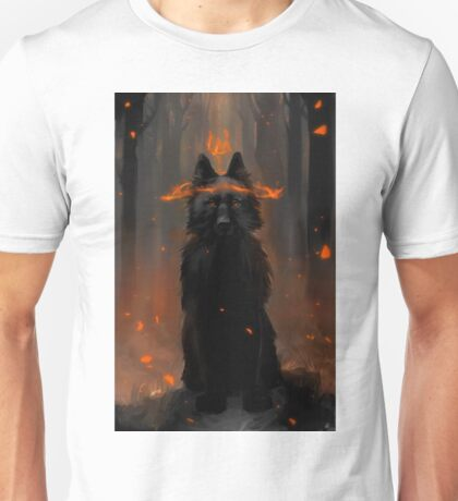 Crowned Wolf Unisex T-Shirt