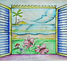 my dream view window  by thuraya arts