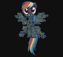 I am a brony because... Kids Tee