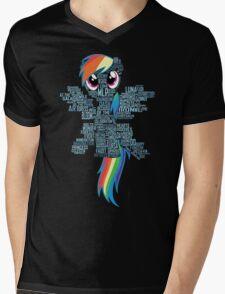 I am a brony because... Mens V-Neck T-Shirt