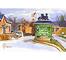 Whistle Junction, Ironton, Missouri Photographic Print