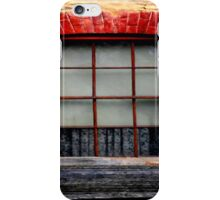 Old charm window Shutters iPhone Case/Skin