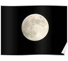 Humid Full Moon  Poster