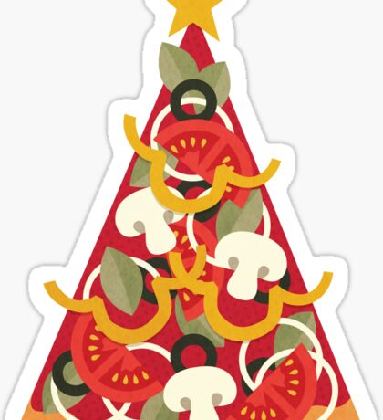 Pizza on Earth - Vegetarian Sticker
