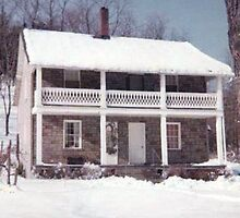 Our Old House On Shortest Day Road by Gene Walls