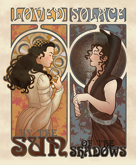 Loved and Solace Nouveau by Christadaelia