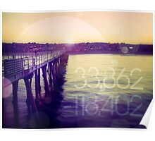 Hermosa Beach, California Poster