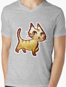 Pretty Kitty Mens V-Neck T-Shirt