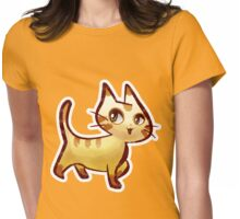 Pretty Kitty Womens Fitted T-Shirt