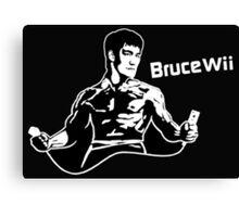 Bruce Wii Canvas Print