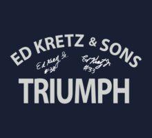 Ed Kretz Triumph white by davegow