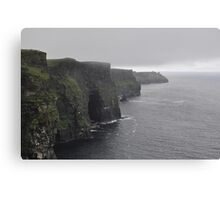 Moher in the Morning Canvas Print