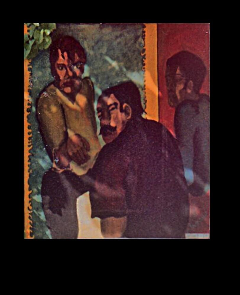 Three Amazing GUYS-1966 * by James Lewis Hamilton