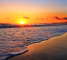 Sunrise over Kingscliff by Ron Finkel