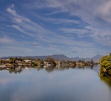 Mt Warning at Condong NSW by Ron Finkel