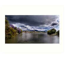 Storms Over Mt Warning Art Print