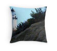 Montauk Lighthouse Throw Pillow
