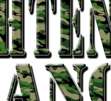 LIGHTEN UP FRANCIS - green camo Sticker