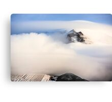 Mount Hood under a Lenticular Cloud Canvas Print